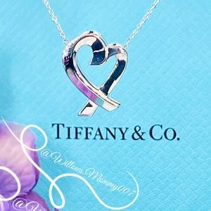 Tiffany & Co. Paloma Picasso Large Loving Heart Pendant in Sterling Silver